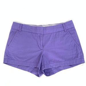 J. Crew Shorts - J Crew Cotton Chino Shorts in Lavender